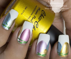 easter nails, easter nail art, and easter nail art pictures image