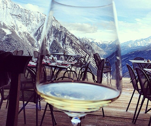 mountains and wine image