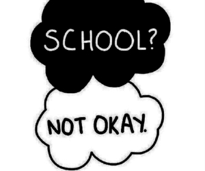 school, okay, and not okay image