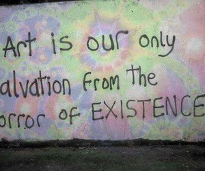 arte, colors, and Existence image
