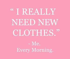 clothes, quotes, and pink image