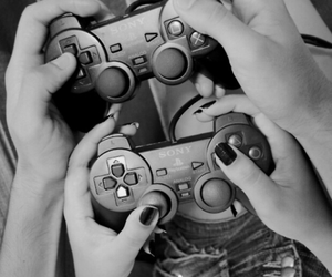 couple, video games, and games image