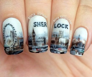 nails and sherlock image