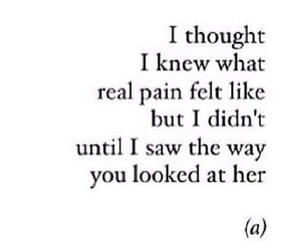 pain, love, and quote image