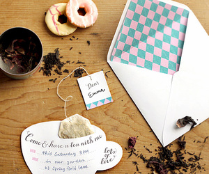 tea and invitation image