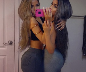 booty, twins, and workout image