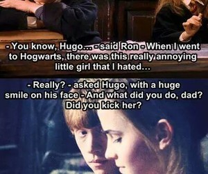 harry potter, love, and ron image