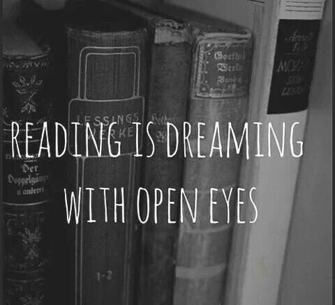 Reading Is Dreaming With Open Eyes On We Heart It