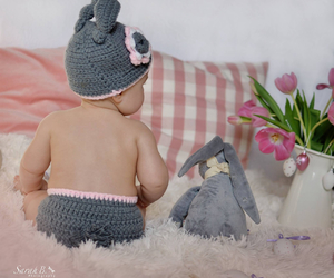 baby, photography, and easter image
