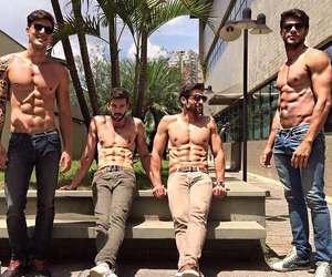 abs, beauty, and guys image