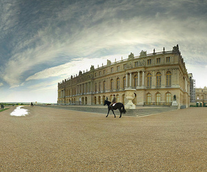 france, horse, and versailles image