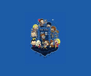 doctor who, tardis, and all the doctor image