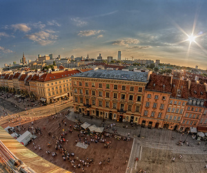 Poland and warsaw image
