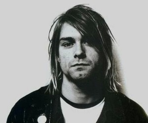 kurt, kurt cobain, and black and white image