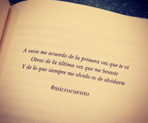 olvido, frases, and microcuento image
