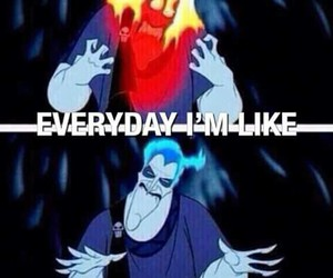 funny, everyday, and hercules image