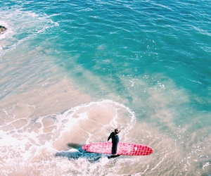 ocean, surf, and paradise image