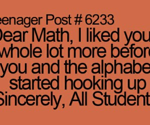 alphabet, funny, and teenager post image