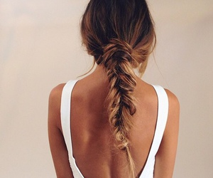 beautiful, blond hair, and hairstyle image