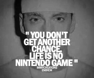 eminem, quote, and chance image