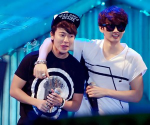 donghae, friends, and korean image