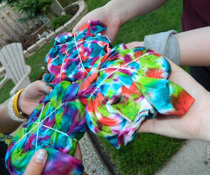 summer and tie dye image