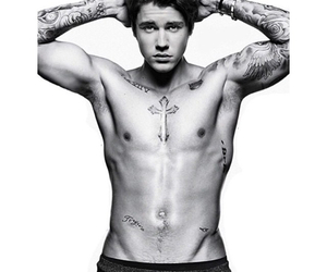 abs, JB, and Tattoos image