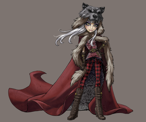 wolf, ever after high, and cerise image