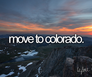before i die, colorado, and mountains image