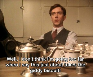 hugh laurie, jeeves and wooster, and bertie wooster image