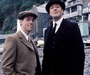 hugh laurie, jeeves and wooster, and steven fry image