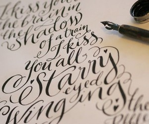 writing, calligraphy, and text image