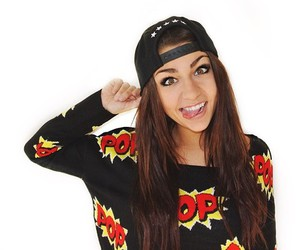 andrea russett, tumblr, and youtube image