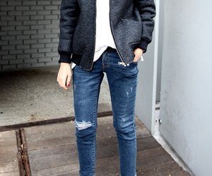 jeans, clothes, and fashion image
