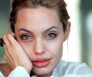 Angelina Jolie, beautiful, and lips image
