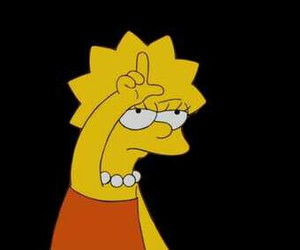 lisa, loser, and thesimpsons image