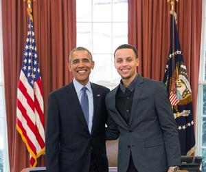 barack obama, Basketball, and NBA image