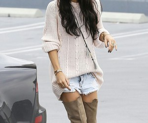 vanessa hudgens, hair, and style image