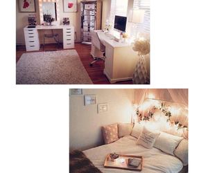 apple, bedroom, and cool image