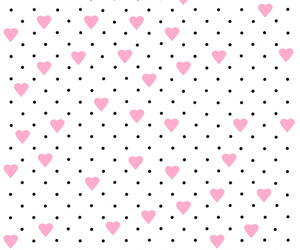 dot, heart, and patterns image