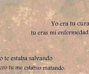 love, frases, and enfermedad image