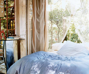 bedroom, cozy, and nature image