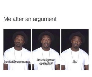 funny, argument, and lol image