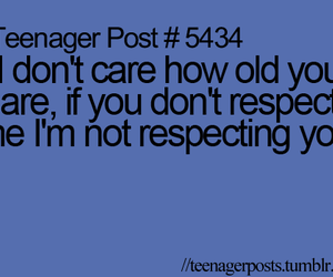 respect, teenager post, and true image