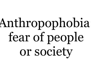 phobia and fear image