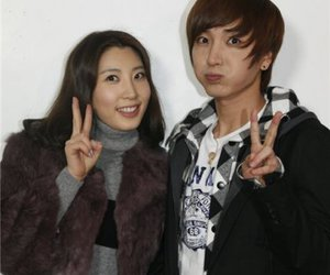 inyoung, park inyoung, and leeteuk's sister image