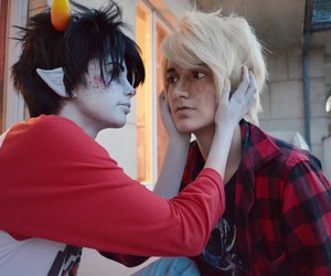boy, cosplay, and davekat image