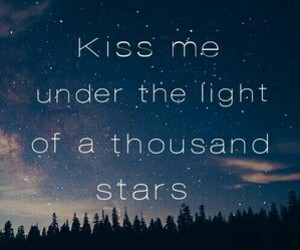 stars, kiss, and quotes image