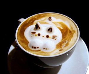 coffee and latte art image