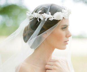 beautiful, wedding, and woman image